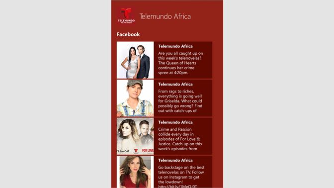 Get Telemundo Africa - Microsoft Store
