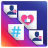 Hashtags - For Get Likes , Followers for Instagram , Facebook and all Social Networks