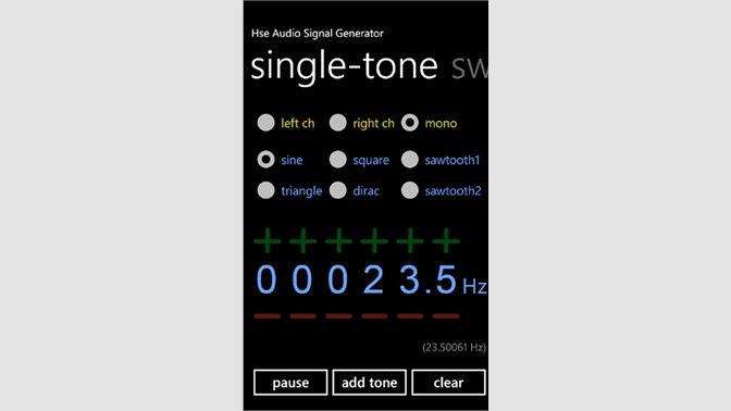 Buy Signal Generator - Microsoft Store