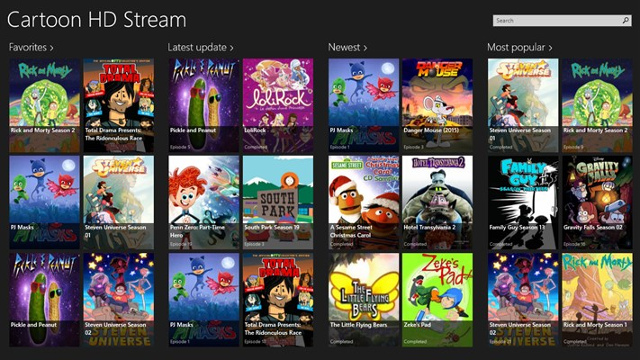 Developer Submission: Cartoon HD Stream Goes Universal For