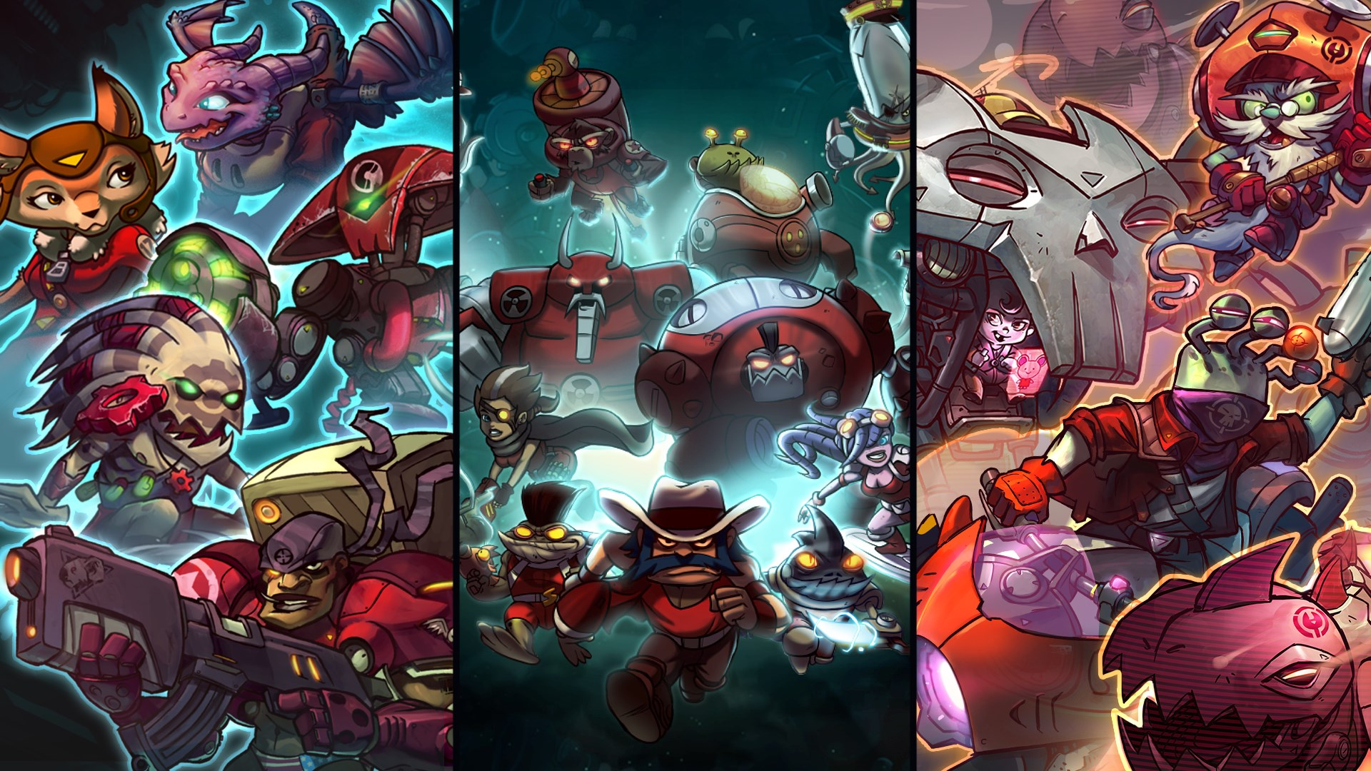 Ultimate Overdrive Pack - Awesomenauts Assemble! Game Pack