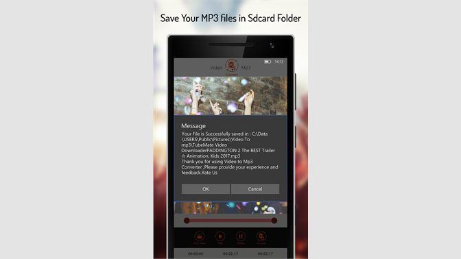 Get Video to Mp3 Converter, MP3 Video Converter - Microsoft