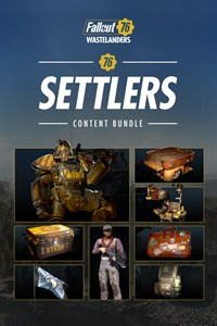 Carátula del juego Fallout 76: Settlers Content Bundle
