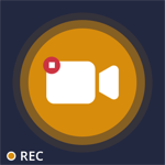 Full HD Screen Recorder and Voice Recorder For Games: Take Screenshot Pro Logo