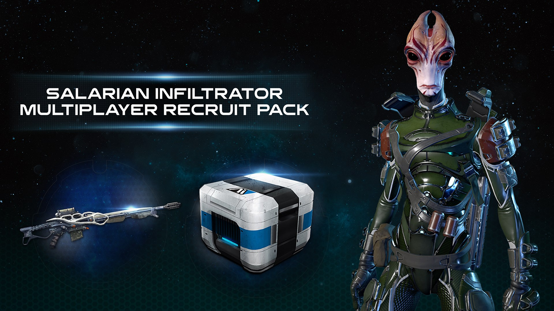 Mass Effect™: Andromeda - Salarian Infiltrator Multiplayer Recruit Pack