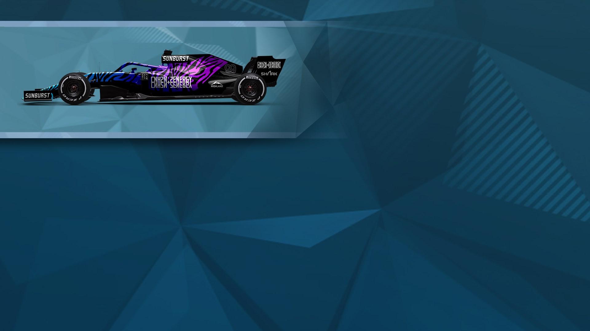 F1® 2019: Car Livery 'CNH2N+2ENERGY - Tiger'