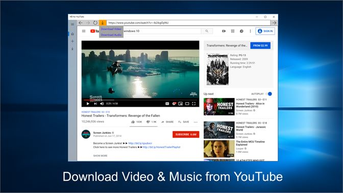 Get HD for YouTube - Microsoft Store