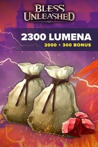 Bless Unleashed: 2.000 Lumenas + 15% (300) de bônus
