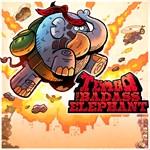 TEMBO THE BADASS ELEPHANT Logo