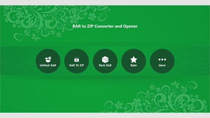 Get RAR To ZIP Converter,Opener - Microsoft Store