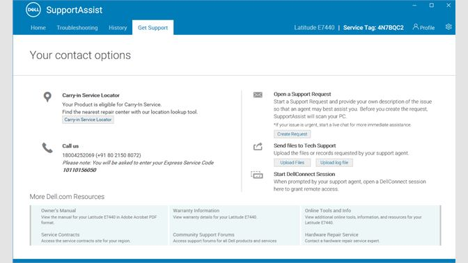 Get Dell SupportAssist for PCs - Microsoft Store
