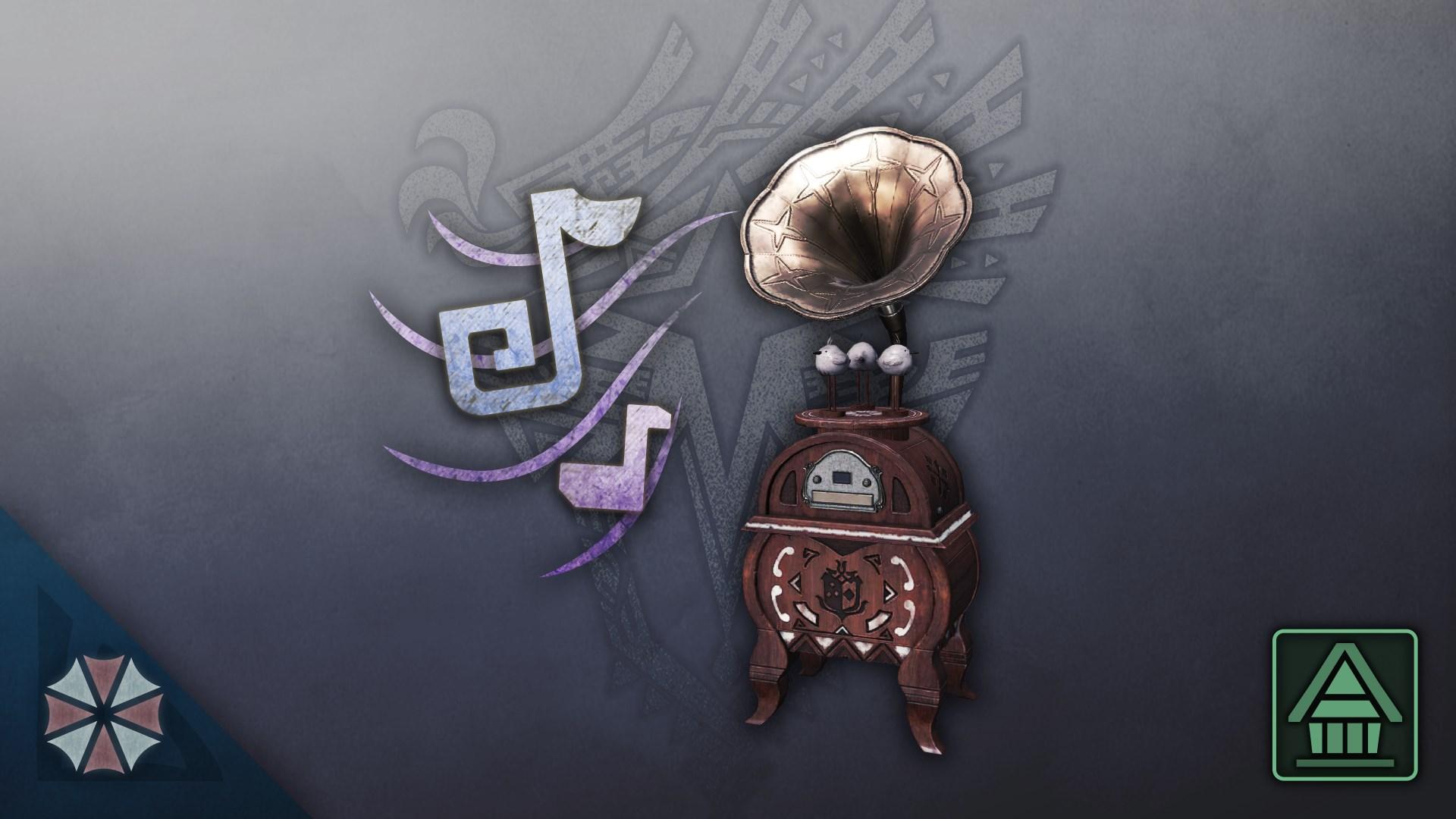 MHW:I Music Player: Raccoon City Collaboration - Black Impact