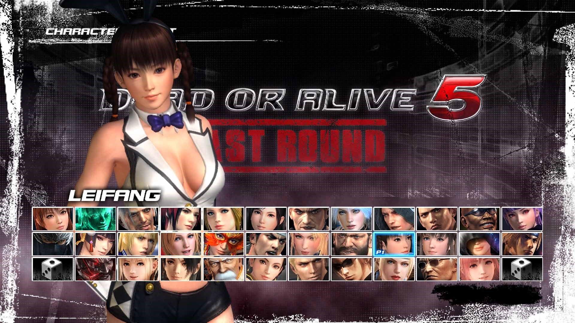DEAD OR ALIVE 5 Last Round Sexy Bunny Leifang