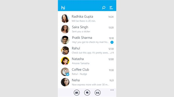 Get hike messenger - Microsoft Store