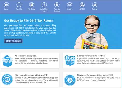 Get efile canadian tax return microsoft store canada screenshot efile canadian tax return ccuart Image collections