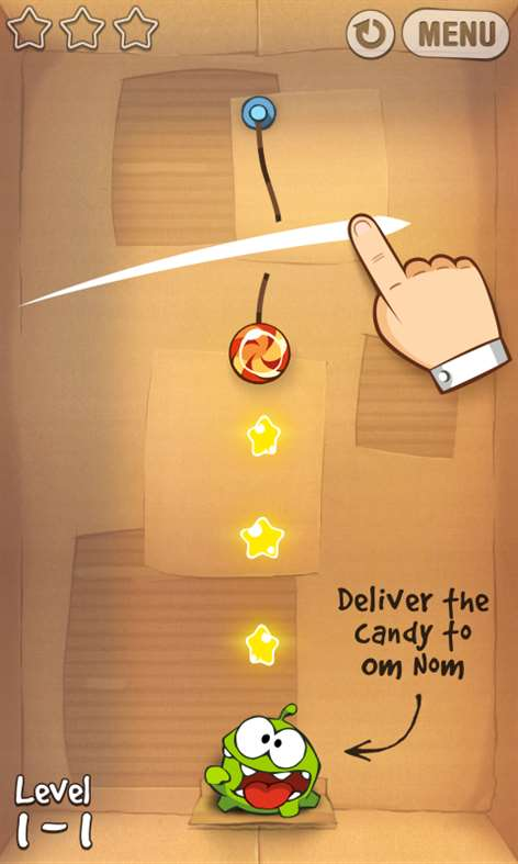 Cut The Rope for Windows Phone 1.1.0.0 full