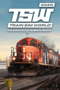 Carátula del juego Train Sim World: Canadian National Oakville Subdivision