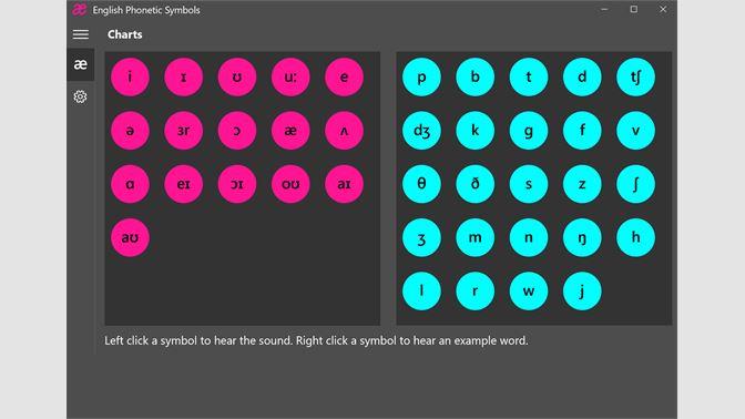 Get Phonetic Symbols Microsoft Store