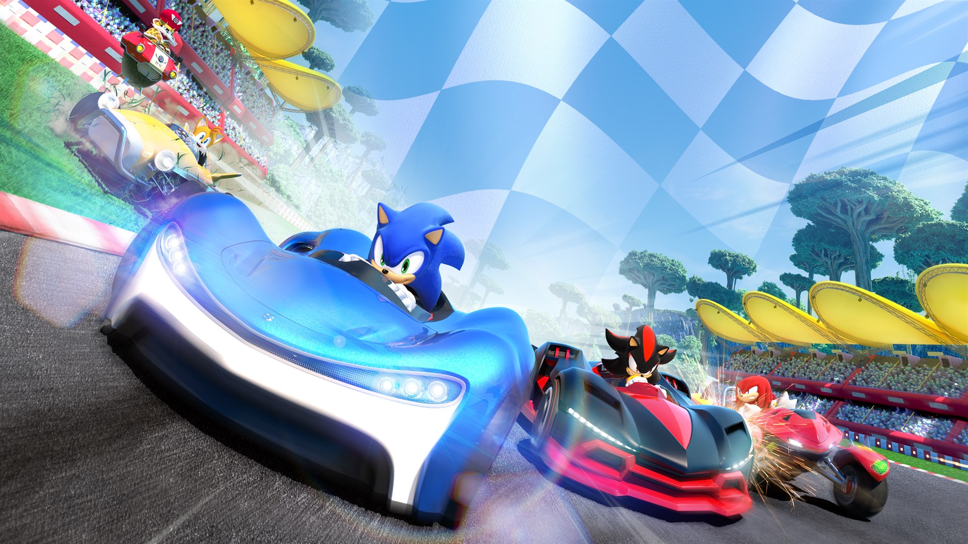 Team Sonic Racing File Size