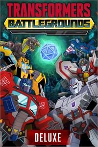 Carátula para el juego TRANSFORMERS: BATTLEGROUNDS DIGITAL DELUXE EDITION de Xbox 360