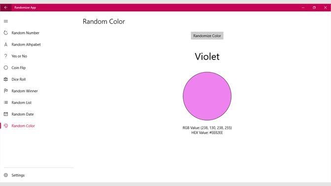 Get Randomizer App - Microsoft Store