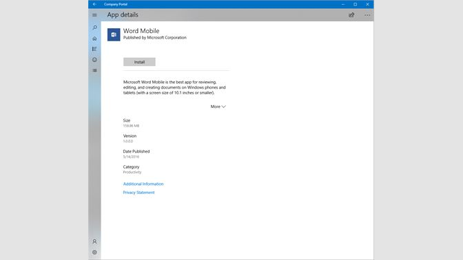 Get Company Portal - Microsoft Store