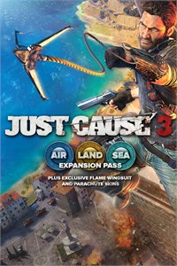 Carátula para el juego Just Cause 3: Air, Land & Sea Expansion Pass de Xbox 360