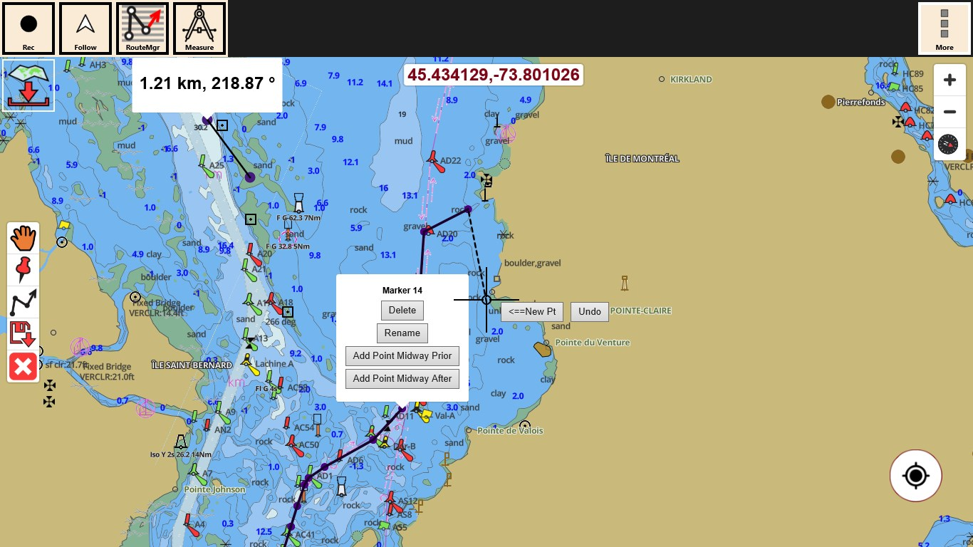 I Boating Gps Nautical Marine Charts Offline Sea