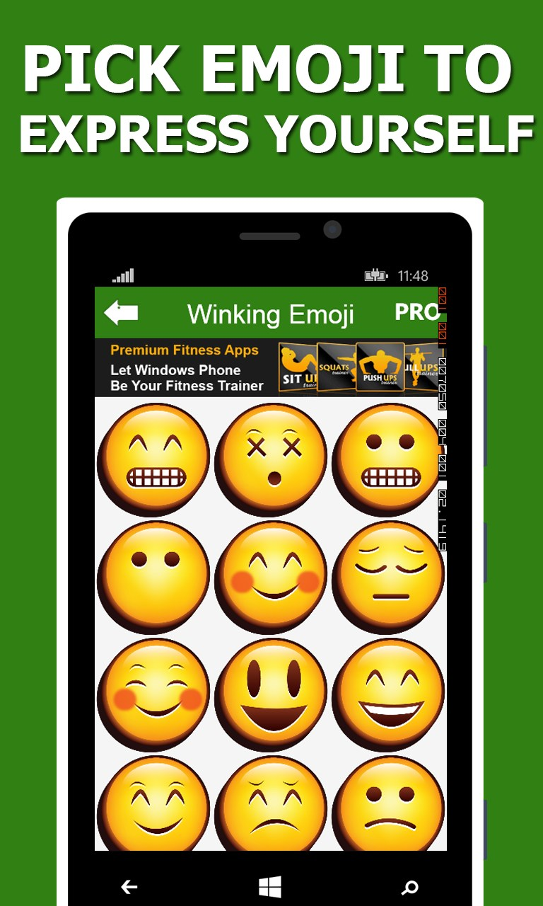 Emojis for WhatsApp ,KiK,FB,Viber,WeChat,Line for Windows 10
