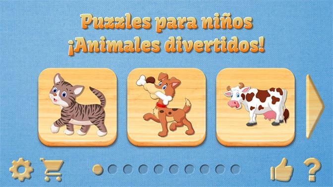 Obtener Puzzles Para Ninos Educativos Animales Divertidos Bebe