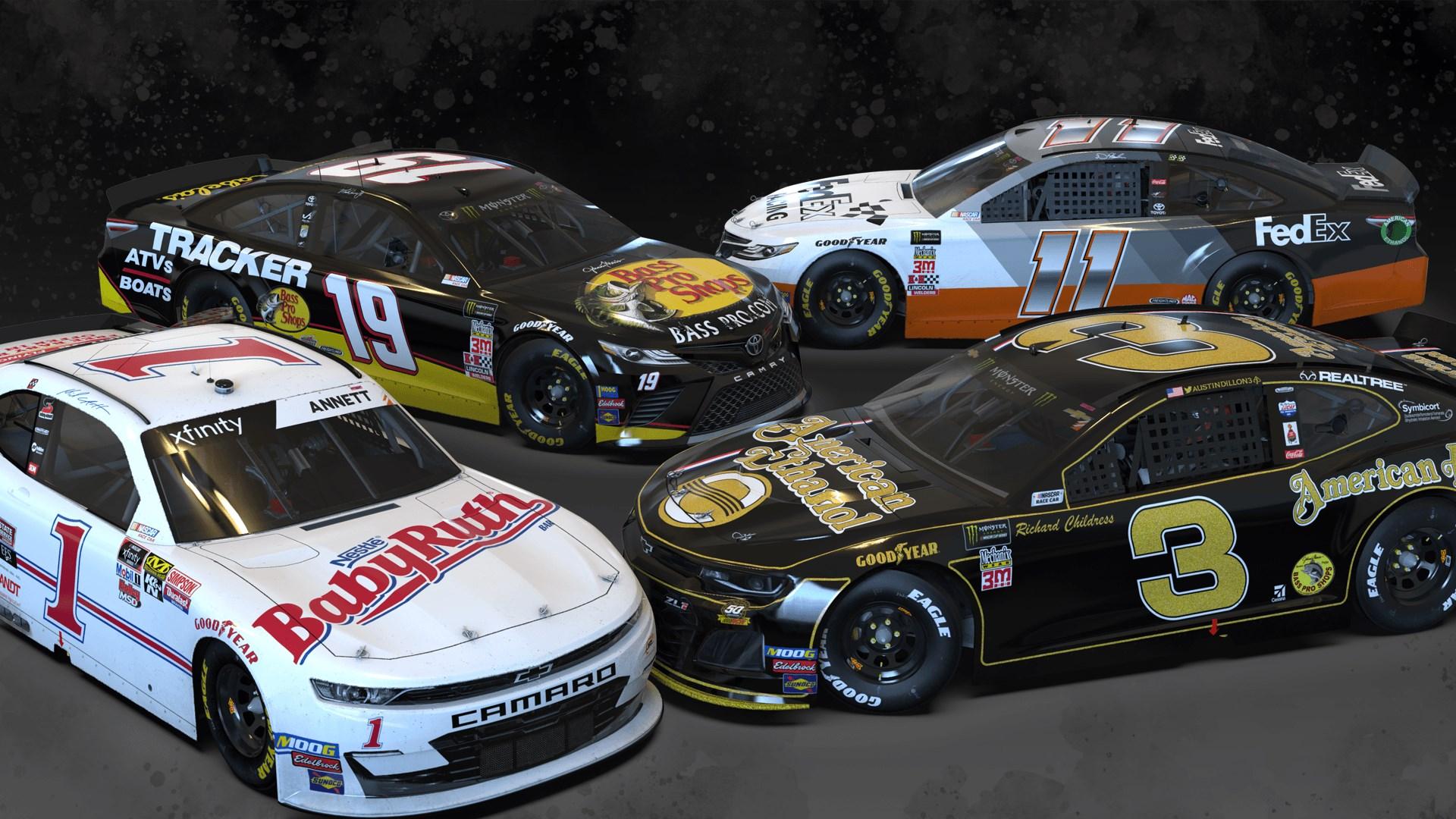 NASCAR Heat 4 - October Pack