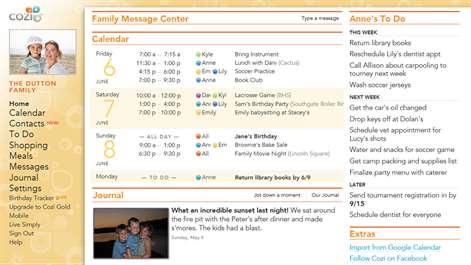Cozi Family Organizer Screenshots 1