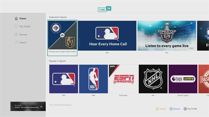 Get TuneIn Radio - Microsoft Store
