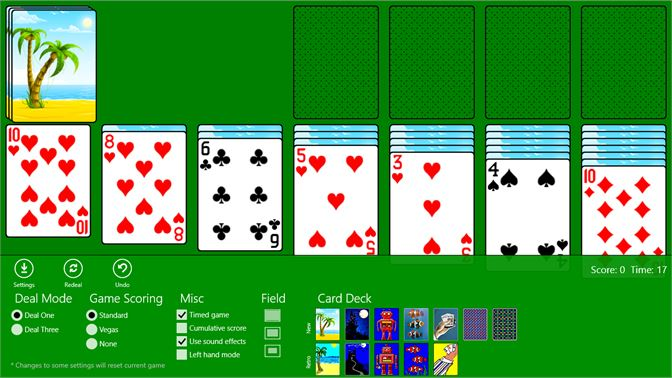 solitaire free download for windows 8 64 bit