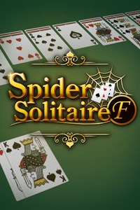 Carátula para el juego Spider Solitaire F de Xbox 360