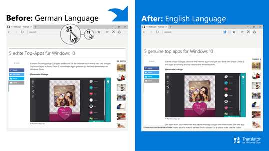 Translator for Microsoft Edge screenshot 3