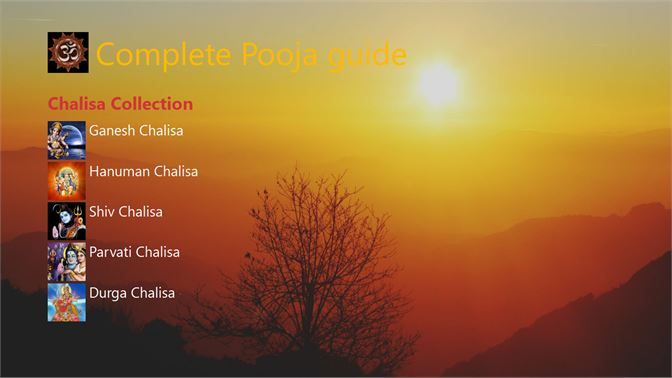 Get Complete Pooja guide - Microsoft Store