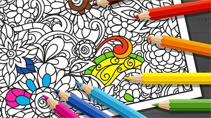 Get Coloring Book Mandala