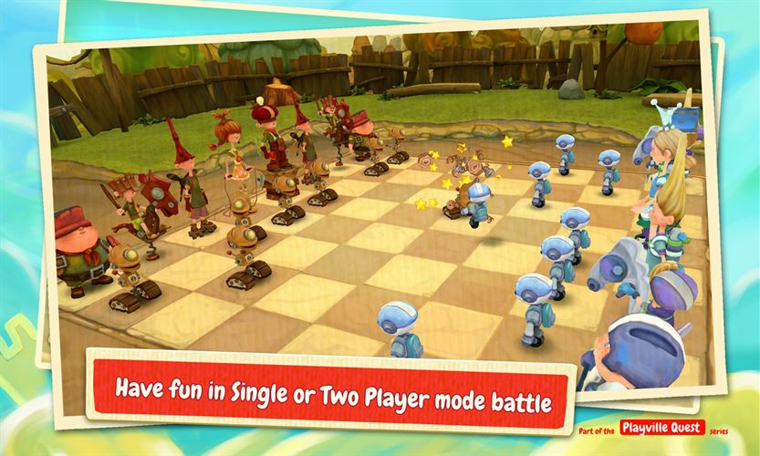 Toon Clash CHESS Screenshot