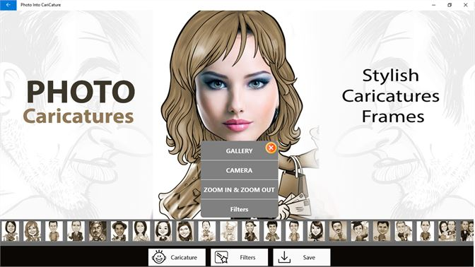Get Photo Into CariCature - Microsoft Store