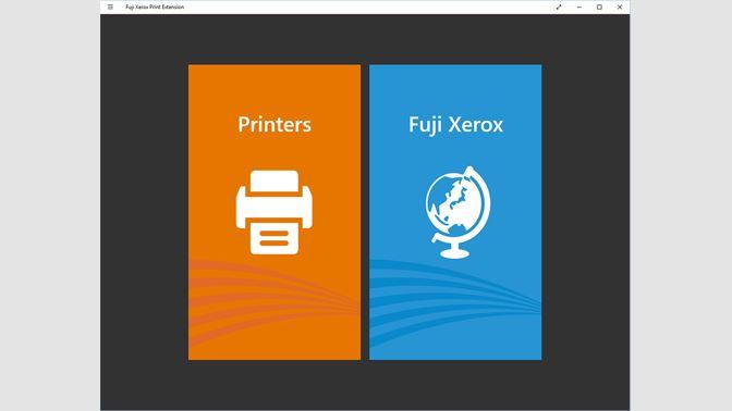 Get Fuji Xerox Print Extension - Microsoft Store en-AU