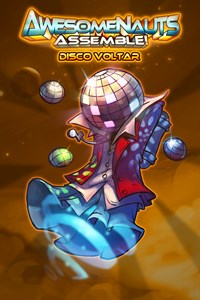 Carátula del juego Disco Voltar - Awesomenauts Assemble! Skin