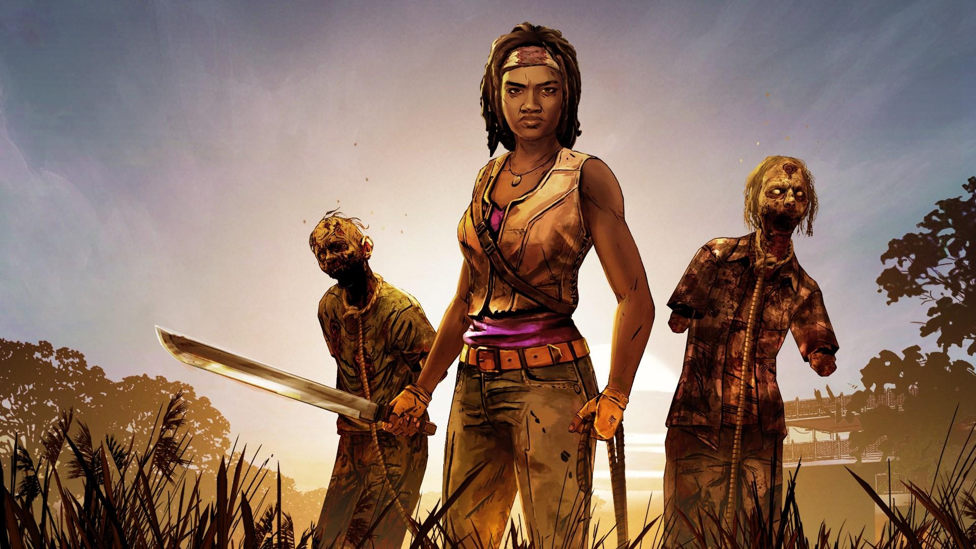 The Walking Dead: Michonne key art
