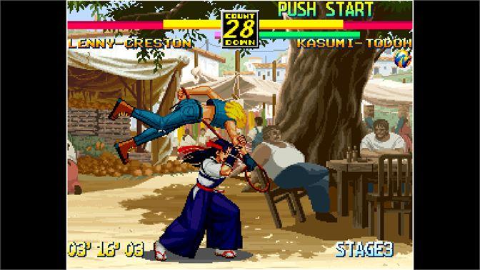 Buy Aca Neogeo Art Of Fighting 3 For Windows Microsoft Store