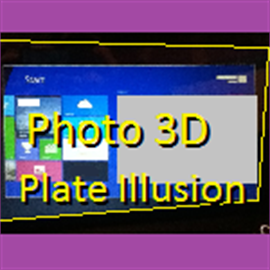 get photo 3d plate illusion microsoft store