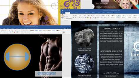 Templates for MS Word Screenshots 2