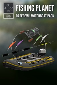 Fishing Planet - Daredevil Motorboat Pack