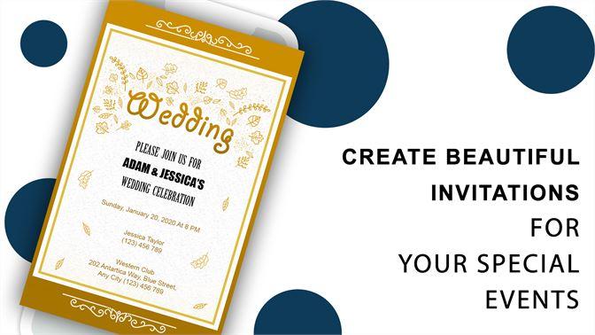 Get Invitation Card Maker E Cards Digital Invites