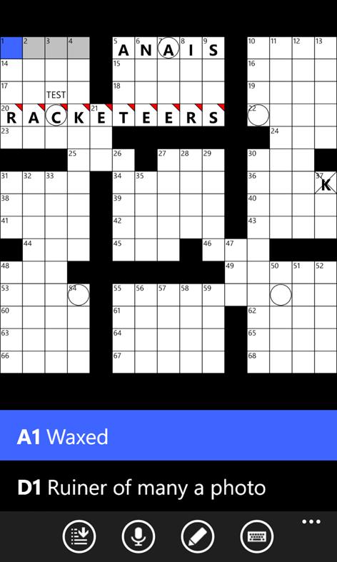 All Mobile Crossword Screenshots 2