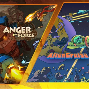 AngerForce and AlienCruise Arcade Shooting Bundle Xbox One